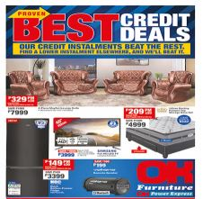 Specials at OK Furniture Catalogue Cover