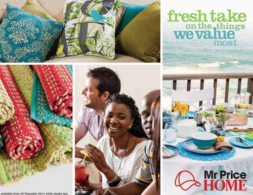 Mr Price Home Catalogue Cover