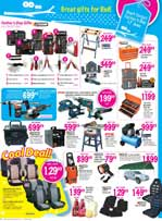 Furniture and accessories available at Game stores