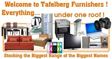 Furniture and appliances at Tafelberg Furniture Stores