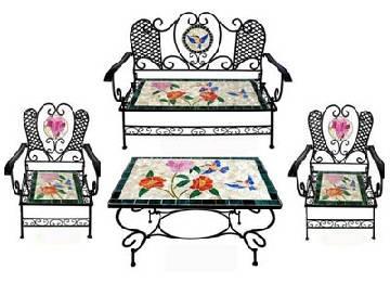 Outdoor Mosaic Furniture